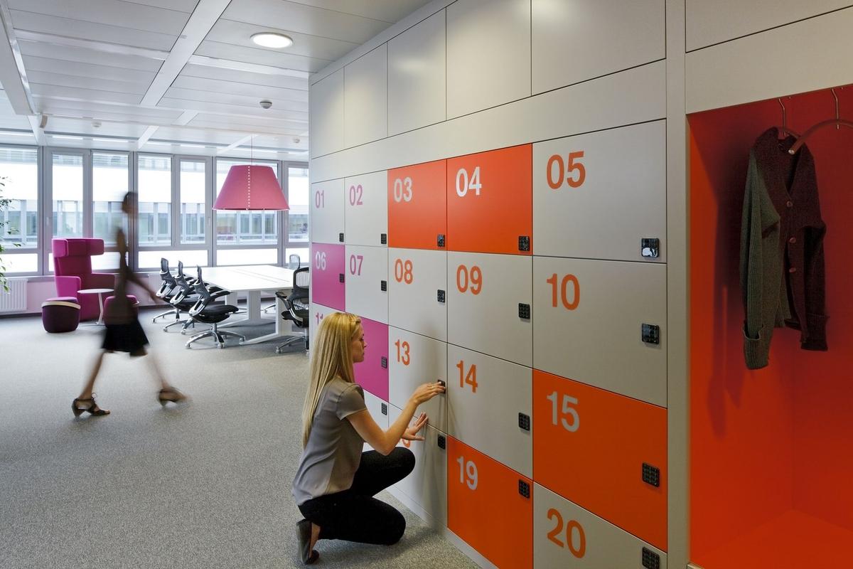 Lockers Glaxo Smith Kline Pharma GmbH
