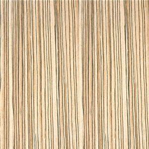 Storage Wall Veneer Crown Cut Finish - Zebrano